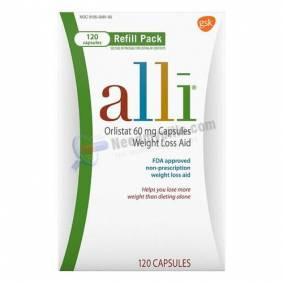 Alli (Orlistat 60 Mg) Capsules