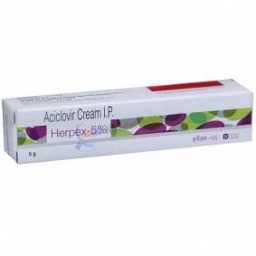 Herpex 5% Cream