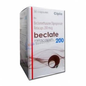 Beclate Rotacaps 200mcg