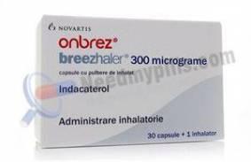 Onbrez Breezhaler 300mcg